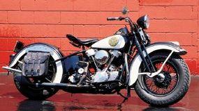 A real piece of Americana: a 1936 Harley-Davidson