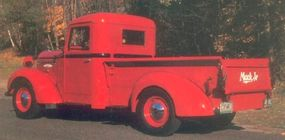 This 1938 Mack Jr 2M pickup was one of only 117 2M versions delivered for the model year.