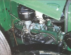 The C-1's undersquare engine increased output to 78 horsepower from the D-1's 70.