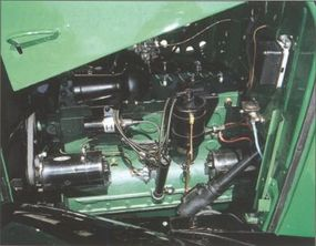 The 1937 C-1 also featured hydraulic brakes.