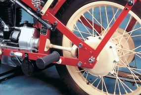 Nimbus motorcycles were offered only in four-cylinder, shaft-drive form throughout their 1920-1957 production run.