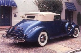 Packard boasted of the 1507 series' quiet ride.