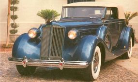 This restored Packard 1507
