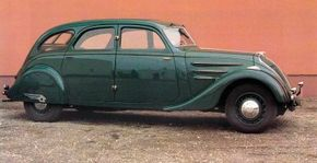 Image Gallery: Classic Cars The 1937 Peugeot 402 Limousine had a classic streamlined shape. See more pictures of classic cars.