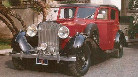 1937 Rolls-Royce Phantom III Touring Limousine