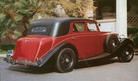 The Rolls-Royce Phantom III touring limousine was produced until July 1939.
