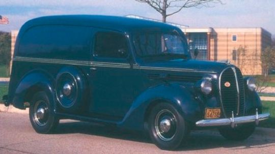 1938-1939 Ford Panel and Pickup