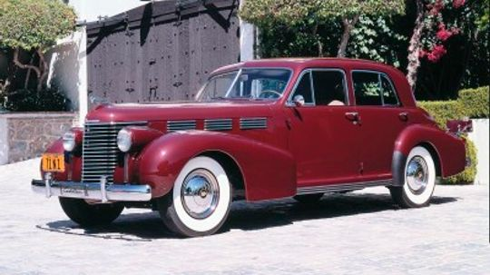 1938 Cadillac Sixty-Special