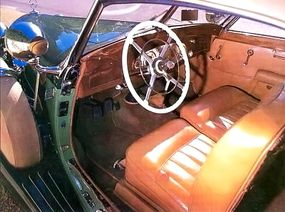 The interior of the 1938 Mercedes-Benz 540K cabriolet A was handcrafted.