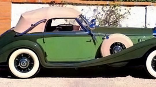 1938 Mercedes-Benz 540K Cabriolet A