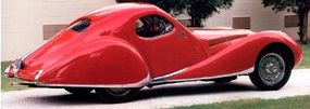 The design of the Talbot-Lago was extremely progressive for the 1930s.