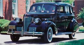 The 1939 Chevrolet featured new                              front sheet-metal styling.