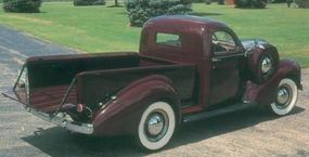 High prices and a lightweight image kept volume low; only about 1,200 examples of the stylish 1939 Studebaker L5 Coupe-Express were built.