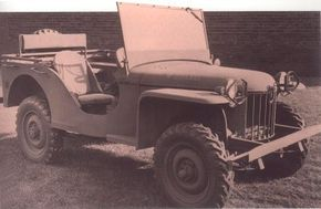 American Bantam came up with the first jeep prototype in August-September of 1940. See more Jeep pictures.