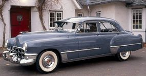 This 1949 Cadillac Series 62 sedan could go from 0 to 60 mph in under 15 seconds, a remarkable feat at that time.