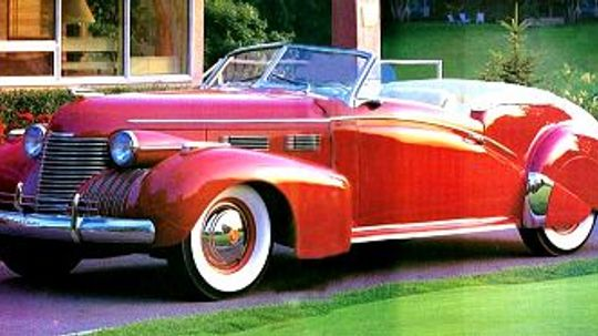 1940 Cadillac Custom Convertible