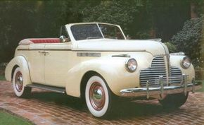 The 1940 Special Convertible Sedan helped Buick boost its sales after the Depression era. See more classic car pictures.