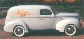 Just as Ford's 1940 cars are coveted by collectors, the 1940 Ford Sedan Delivery is among the most highly valued classic Ford truck.