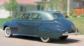 A 1940 Oldsmobile Series 90 Custom Cruiser Sedan offered style, performance, and new safety features. See more pictures of classic cars.