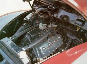 The Mercury Town Sedan used an enlarged version of the Ford flathead V-8 producing 95 instead of 85 horsepower.
