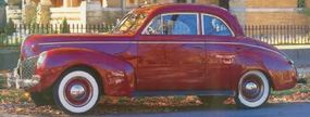 The 1940 Mercury Club Coupe had multiple body styles, including the one shown here.