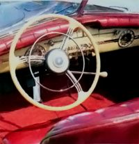 The Victoria had an attractive dashboard.