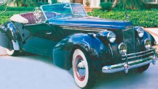 1940 Packard Darrin One-Eighty Victoria Convertible