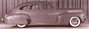 Cadillac designers ran up this four-door fastback to create another 1941 LaSalle concept car.