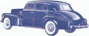 Likely considered for 1940, not 1941, was this intriguing LaSalle concept version of Cadillac's handsome and predictive new 1938 Sixty Special.