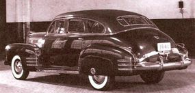 The early-1940 date on this LaSalle concept car picture suggests the decision to drop LaSalle came very late during planning for the not-to-be 1941 models.