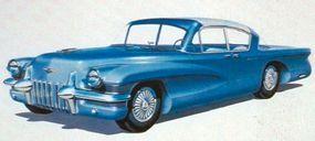 If the 1955 LaSalle II concept car roadster evoked the Corvette, the LaSalle II hardtop sedan concept, pictured here, epitomized sporting elegance.