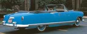 Famed coachbuilder Ray Dietrich turned some Kaiser coupes into convertible proposals, including this one. It was among the prettiest 1952-1955 Kaiser concept cars.