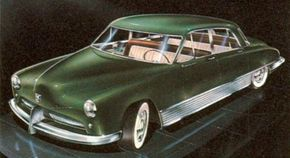 Image Gallery: Concept Cars This Kaiser-Frazer concept car proposed for 1950 by famed designer Brooks Stevens leaves intact the basic shape of the successful late 1940s Kaisers. See more concept car pictures.