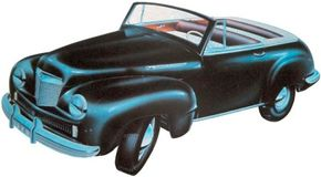 Image Gallery: Concept Cars The Willys 6/66 concept car was conjured up during World War II and was modeled after the Willys-Overland prewar Americar compact. See more concept car pictures.
