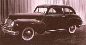 The 1940 Willys 6/66 concept car had become the Model 6-70 by the time this running prototype was photographed.