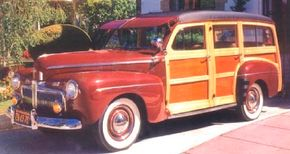 At $1,125, the 1942 Ford Super DeLuxe wagon was the most expensive model in the lineup.