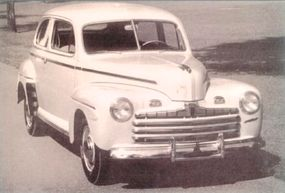 By far the most popular 1946 Ford was the Super DeLuxe Tudor sedan, of which 163,370 were produced.