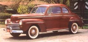 Among Super DeLuxes, the sedan coupe was the third most popular model.