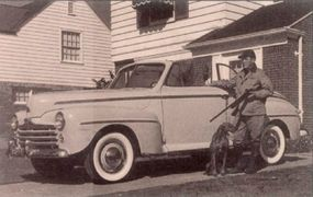 The $1,740 1948 Ford Super DeLuxe ragtop was chosen by 12,033 customers.