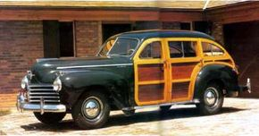 The 1941 Town & Country 'woodie' may well qualify as the world's first hatchback sedan. See more classic car pictures.