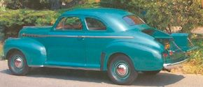 The coupe pickup was a convenient commercial vehicle during the week and a stylish coupe for the weekend. See more classic car pictures.