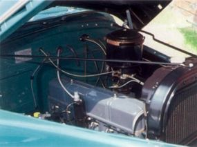 The pickup's Stove-Bolt six engine was dependable, making it an important selling feature.