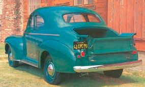 One of the most important selling features was the easily installed deck lid for commercial use.