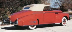 Buick's Super convertible was second only to Ford in popularity. See more classic car pictures.