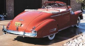 The two-door coupe was one of Buick's two convertibles in 1941.