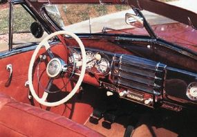 The Limited's plush interior helped sell smaller Super convertible models.