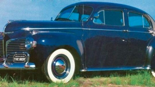 1941 Dodge Custom Town Sedan