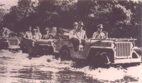 The jeep garnered quite a reputation as the first vehicles to pass the treacherous Burma Road. See more Jeep pictures.