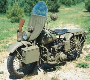 The 1942 Harley-Davidson WLA was valuable transportation for American soldiers in World War II. See more motorcycle pictures.