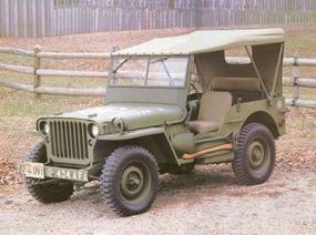 The Ford jeep built for World War II is now a rare and unique collectible.
